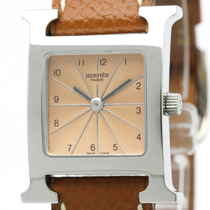 Hermes Heure H Quartz Stainless Steel Women's Dress Watch HH1.710