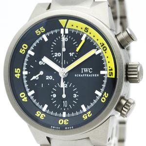 IWC Aquatimer Automatic Titanium Men's Sports Watch IW372301