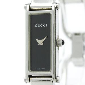 グッチ(Gucci) 1500 クォーツ ステンレススチール(SS) レディース ドレスウォッチ 1500L