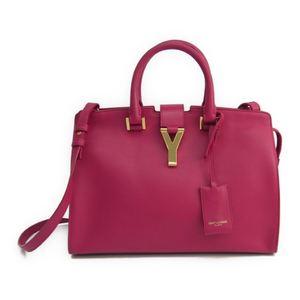 Saint Laurent 311210 Women's Leather Handbag Pink
