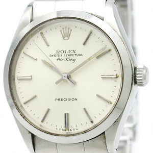 Rolex Airking Automatic Stainless Steel Men's Dress Watch 5500