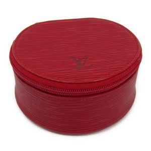 ルイ・ヴィトン(Louis Vuitton) エピ ジュエリーケース エクランビジュー10 M48217 カスティリアンレッド エピレザー