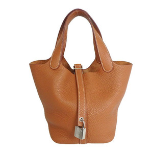 Auth Hermes Picotin Taurillon Clemence al165