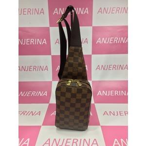 Louis Vuitton Damier Geronimos N51994 Men's Shoulder Bag Ebene