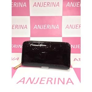 Louis Vuitton Monogram Vernis M93522 Zippy Wallet Monogram Vernis Long Wallet (bi-fold) Amarante