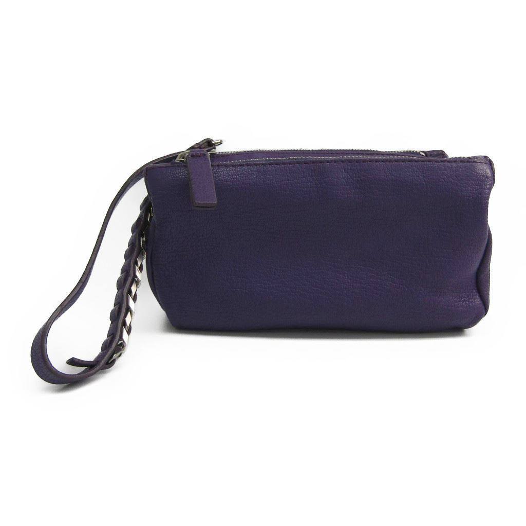 Details about Givenchy Pandora Women s Leather Pouch Purple BF319097 705758ad76