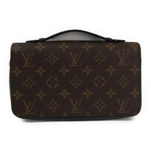 Louis Vuitton Monogram Macassar Zippy XL M61506 Men's Monogram Long Wallet (bi-fold) Monogram Macassar