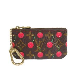 Auth Louis Vuitton Monogram Cherry M95042 coin Case al152