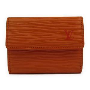 Louis Vuitton Epi M6330H Epi Leather Coin Purse/coin Case Mandarin