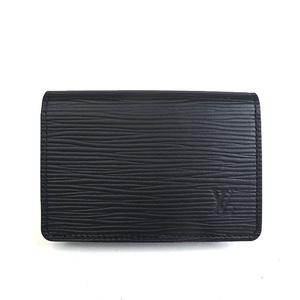 ルイ・ヴィトン(Louis Vuitton) エピ アンヴェロップカルトドゥヴィジット M56582 カードウォレット ノワール al126