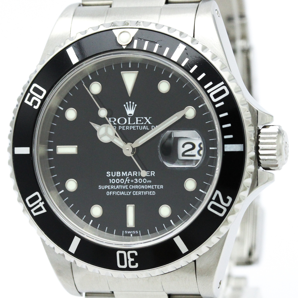 Rolex Submariner Automatic Stainless Steel Men's Sports Watch 16610