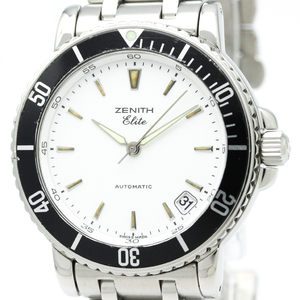 Zenith Elite Automatic Stainless Steel Men's Sports Watch 15/02.0470-670