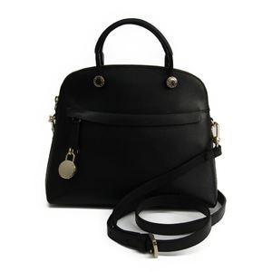 Furla Piper S Women's Leather Handbag Black