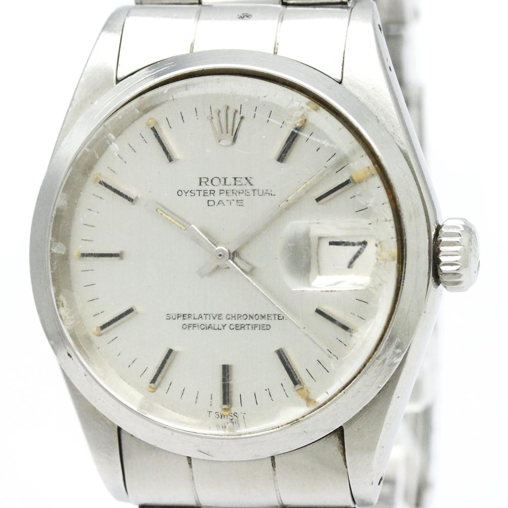 【ROLEX】ロレックス オイスター パーペチュアル デイト 1500 ステンレススチール 自動巻き メンズ 時計
