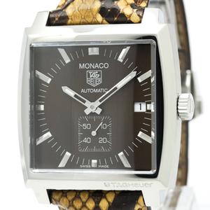 Tag Heuer Monaco Automatic Stainless Steel Men's Sports Watch WW2115