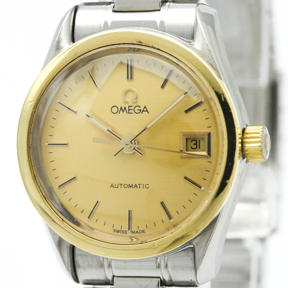 Omega Classic Automatic Stainless Steel,Yellow Gold (18K) Women's Dress Watch