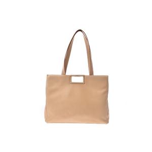 Salvatore Ferragamo Totebag Girls,Women Leather Tote Bag Beige