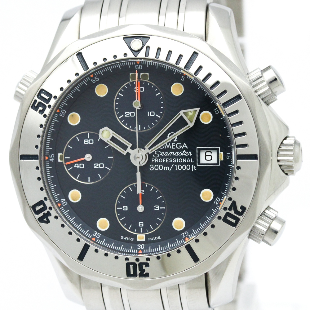 Omega Seamaster Automatic Stainless Steel Men's Sports Watch 2598.80
