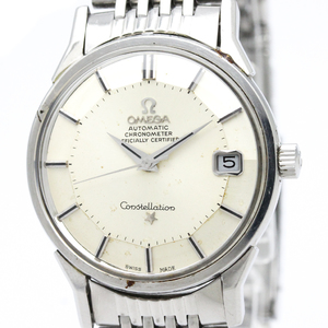 OMEGA Constellation Date Steel Automatic Mens Watch 168.005
