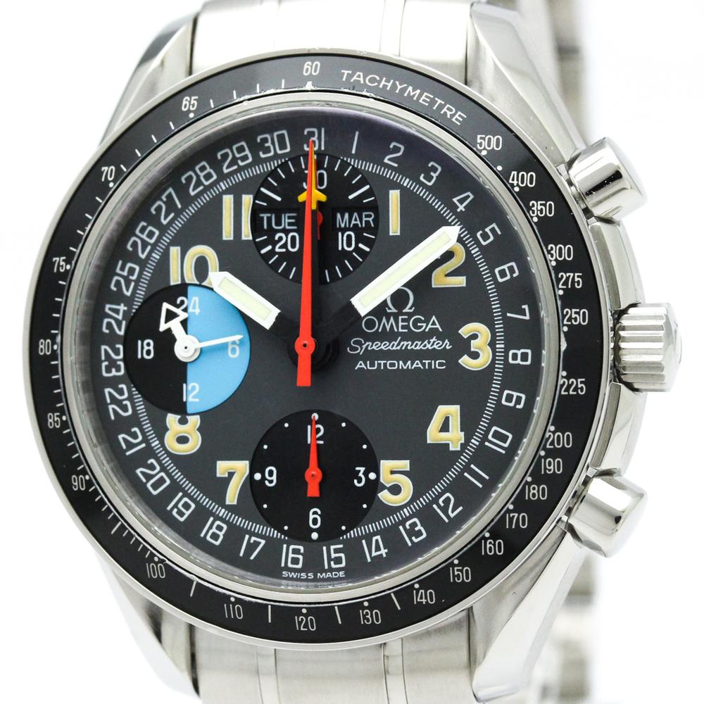 OMEGA Speedmaster Mark 40AM/PM Steel Automatic Watch 3520.53