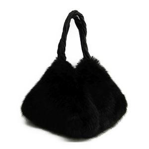 ジバンシィ(Givenchy) PYRAMIDAL BB05682716 ファー,レザー ショルダーバッグ ブラック