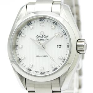 オメガ(Omega) シーマスター クォーツ ステンレススチール(SS) レディース スポーツウォッチ 231.10.30.60.55.001