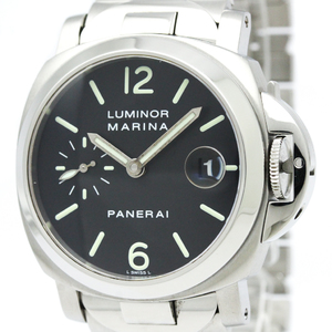 Officine Panerai Luminor Automatic Stainless Steel Men's Sports Watch