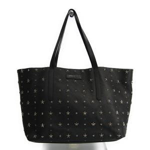 Jimmy Choo PIMLICO Men's Leather Tote Bag Black