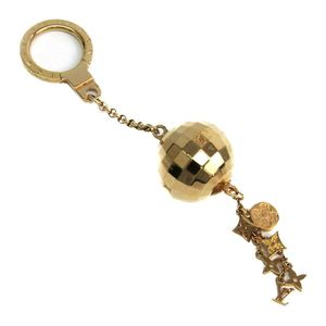 Louis Vuitton Keyring (Gold) Porte Cles Glitter M65379