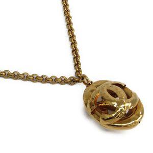 シャネル(Chanel) メタル レディース カジュアル ペンダントネックレス (ゴールド)