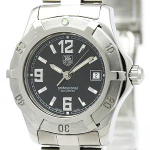 【TAG HEUER 】タグホイヤー 2000 エクスクルーシブ ステンレススチール クォーツ レディース 時計 WN1310