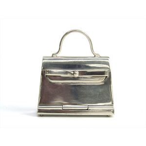 Hermes Silver 925 Accessory Silver Kelly Pill Case