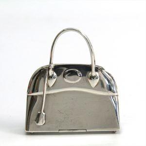 Hermes Silver 925 Accessory Silver Bolide pill case
