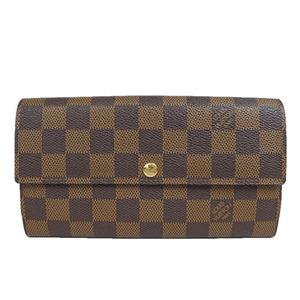 ルイ・ヴィトン(Louis Vuitton) ダミエ ポルトフォイユサラ N61734 za23