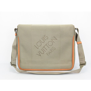 ルイ・ヴィトン(Louis Vuitton) ダミエジェアン M93031 メンズ ショルダーバッグ ノワール