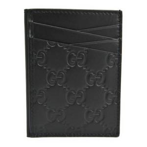 グッチ(Gucci) グッチッシマ レザー カードケース ブラック 495015