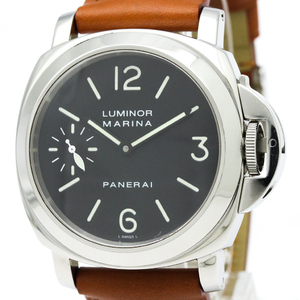 Officine Panerai Luminor Mechanical Stainless Steel Men's Sports Watch PAM00037