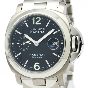 Officine Panerai Luminor Automatic Titanium,Stainless Steel Men's Sports Watch PAM00165