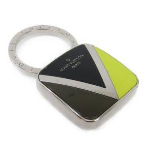 ルイ・ヴィトン(Louis Vuitton) キーホルダー (ブラック,カーキ,イエロー) Vツイスト M61007