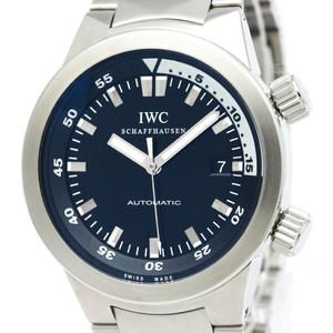 IWC アクアタイマー 自動巻き ステンレススチール(SS) メンズ スポーツウォッチ IW354805