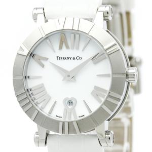 Tiffany Atlas Quartz Stainless Steel Women's Dress Watch Z1300.11.11A20A71A