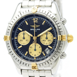 Breitling Cockpit Automatic Stainless Steel,Yellow Gold (18K) Men's Sports Watch B30012