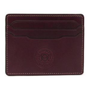 Loewe Leather Card Case Bordeaux 165.05.320