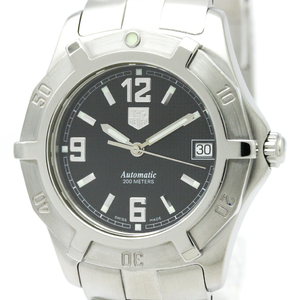 Tag Heuer Exclusive Automatic Stainless Steel Men's Sports Watch WN2111
