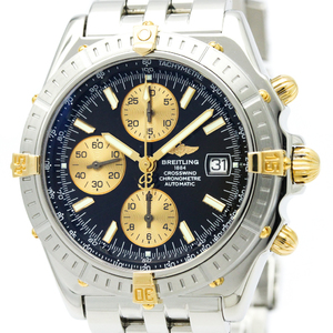 Breitling Crosswind Automatic Stainless Steel,Yellow Gold (18K) Men's Sports Watch B13355