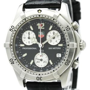 Tag Heuer 2000 Series Quartz Stainless Steel Men's Sports Watch CK1110