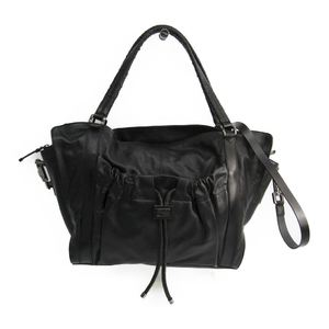 Burberry Women's Leather Shoulder Bag Black