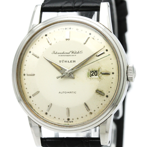 IWC Schaffhausen Automatic Stainless Steel Dress Watch