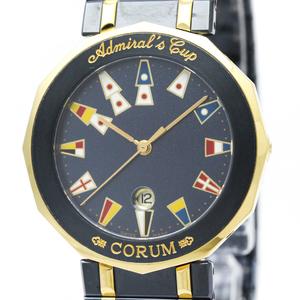 Corum Admiral's Cup Quartz Stainless Steel,Yellow Gold (18K) Men's Dress Watch 99.810.31