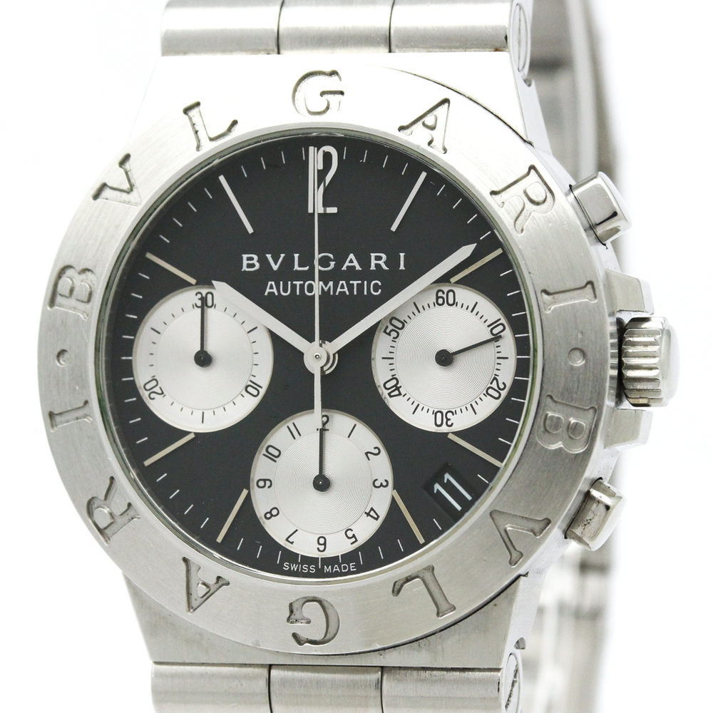 BVLGARI Diagono Sport Chronograph Automatic Watch CH35S AUTO